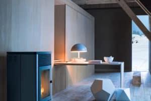 pomysł na kominek w salonie