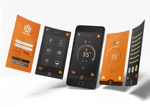 aplikacja do pompy ciepła