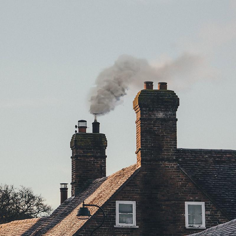 kotol na pelety - Nesprávny vzhľad vývodu komína