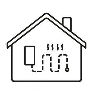 Domy nowe z ogrzewaniem podłogowym