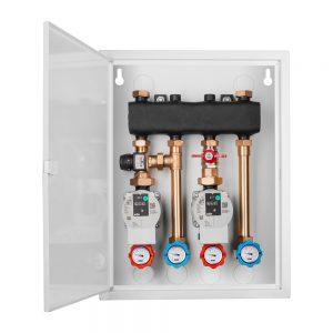 Box hydrauliczny 1x podłoga / 1x grzejniki na zaworze term.