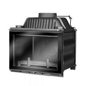 W17 12,3 kW Dekor EKO prosta szyba - Kawmet