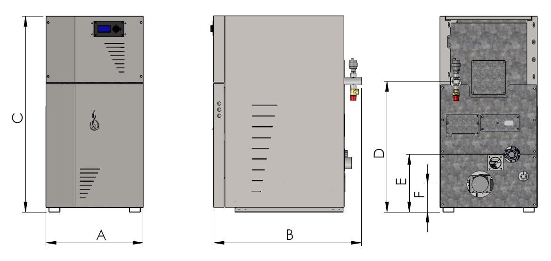 Camino rys tech 10 1 - Lidia Compact mini 10/15/25 kW